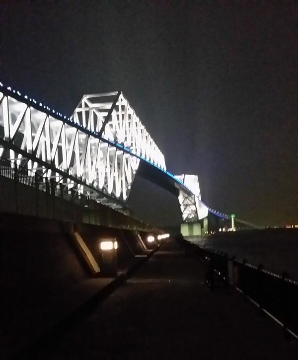 20150802若洲堤防(夜)